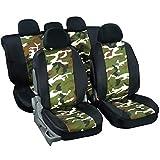 Housse de sièges auto universelle pour 4x4, SUV, break et berline décors camouflage chasse et pêche