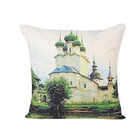 luniwei Kissen Fall Home Decor Bett Sofa Kissenbezug (keine Kissen Einsatz), Sonstige, #3, 45 cm*45