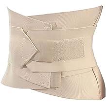 ProCare Faja Correctora Postura Cinturón Mayor Soporte Lumbar Correas Dobles Ajuste Perfecto Alivia Dolor Baja Espalda Ciática Lumbago - Talla Medium