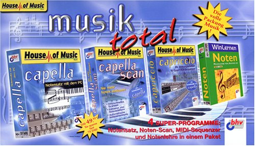 Musik total  CD- ROM für Windows  Musik und Kunst  Tools und Lernsoftware