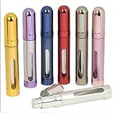 5starwarehouse® 12ml Rechargeables Parfum Atomiseur Atomiseur Baume Après Rasage Voyage Spray Miniature Bouteille Avec Fenêtre - Rose