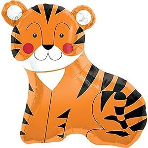 Ballon Mylar Tigre Ballon Taille 35 (89cm) pièce