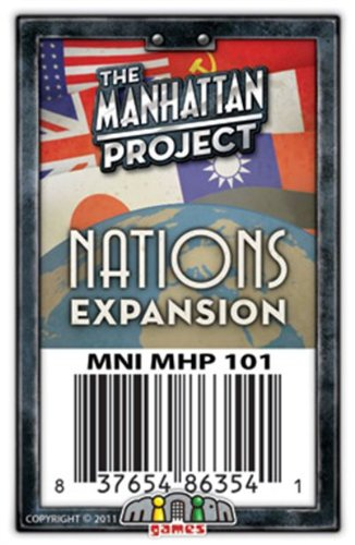 Minion Games The Manhattan Project: Nations Expansion