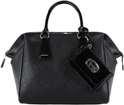 versace jeans damen satchel tasche schwarz black 899. Black Bedroom Furniture Sets. Home Design Ideas