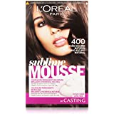 L'Oréal Sublime Mousse - Castaño Oscuro Natural 400 - Coloración permanente en espuma - 1 pack