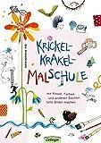 Krickelkrakel-Malschule: Mit Pinsel, Farben und anderen Sachen tolle Bilder machen