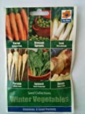 Winter Vegetable Seed Collection 6 in 1 pack