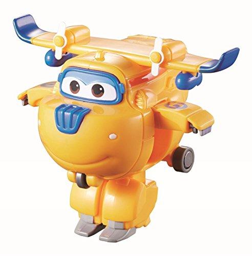 Fliegende Spielzeug Transformer (Super Wings - Mini Transform a Bots Donnie Transformer Flugzeuge Spielzeug)