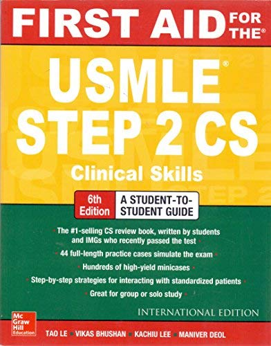 ISE First Aid for the USMLE Step 2 CS, 6/E