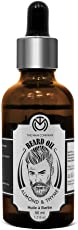 The Man Company Oil for Beard Moustache and Mooch - 50 ml (Almond and Thyme)