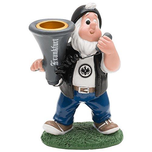 """Eintracht Frankfurt Gartenzwerg """"Kerzenhalter"""" Capo"""