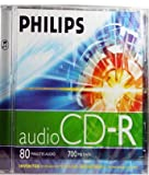 Philips Audio CD Rohling 80 Minuten 700MB Jewelcase