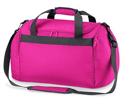 """Sporttasche mit Namen """"Chiller"""" Pink"""