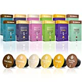 Gourmesso caja de sabores – 120 cápsulas de café compatibles con cafetera Nespresso