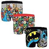 DC Comics - Jungen Boxershorts mit Batman-Motiv- Offizielles Merchandise - Geschenk - 3 Paar - 7-8 Jahre
