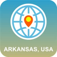 Arkansas, USA Karte online