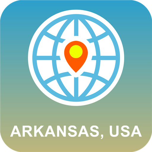 Arkansas, USA Karte online -