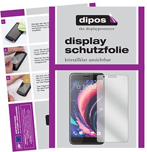 dipos I 6X Schutzfolie klar passend für HTC One X10 Folie Bildschirmschutzfolie