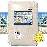 Streusand salzfrei umweltfreundliche Winterstreu Alternative zu Streusalz (1-2 mm / mittel))