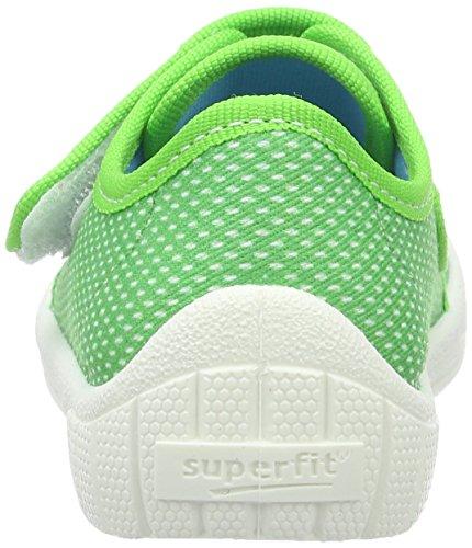 Superfit Bill, chaussons d'intérieur garçon Vert
