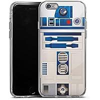 Apple iPhone 6s Silikon Hülle Case Schutzhülle Star Wars Merchandise Fanartikel R2d2