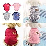 NIBESSER Haustier Hund Katze Kleidung Kleine Hunde Pullover Winter Kleider