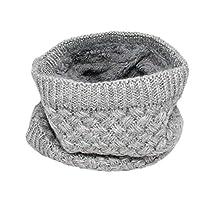 Kids Boys Girls Winter Fleece Lined Infinity Loop Scarf Neck Warmer