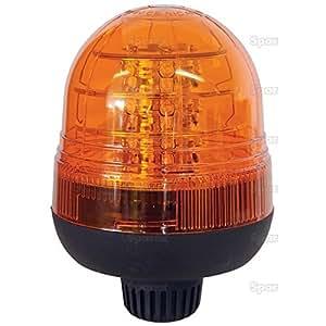 Gyrophare LED standard SPAREX fixation sur tige 12 / 24 Volts