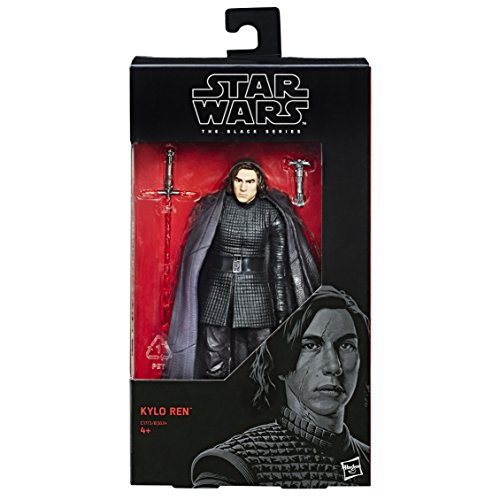 Hasbro Star Wars C1773ES0 - Episode 8 The Black Series 6 Zoll Figur: Kylo Ren, Actionfigur