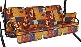 Angerer Comfort-Schaukelauflage 3-Sitzig Design Antwerpen