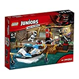 LEGO Juniors 10755 - Zanes Verfolgungsjagd mit dem Ninjaboot, Kinderspielzeug