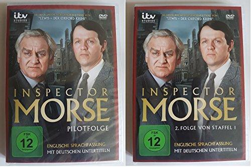 Inspector Morse Pilotfolge + Inspector Morse 2.Folge von Staffel 1 (DVD)