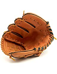 Dans CHT Extérieur Baseball Baseball Cuir Gant Adulte / Paragraphe Juvénile Gants De Pichet Sauvages Softball Gants Bruns