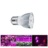 E27 LED Lampada per Piante, Impianti per coltivazione indoor lampadine a infrarossi IR per lampade a spettro completo per tende serra serra fiori piantina 110V / 220V,10W