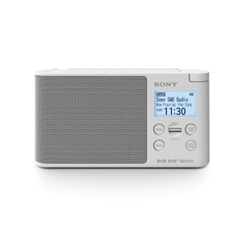 Sony XDRS41D tragbares Digitalradio (LCD-Display, Wecker, DAB, DAB+, FM (RDS), Timer-Weckfunktion) - Fm Sony Radio