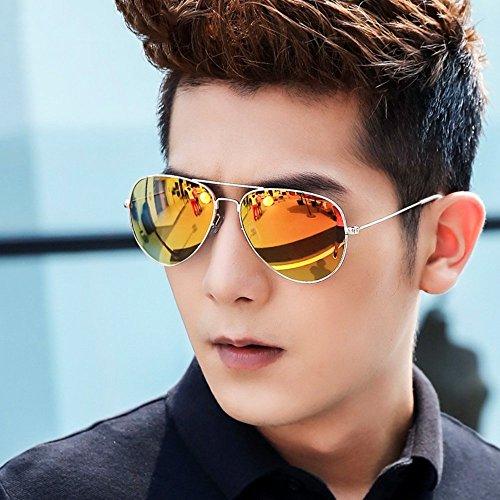 SCJ Sonnenbrille Für Männer Und Frauen Persönlichkeit Sonnenbrille HD Driving Brille Sportbrille Polarisierte Brille Anti-Glare-Augenschutz (Farbe: 12)