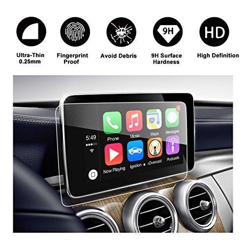 2015-2018Mercedes-Benz C Class Touch Screen Auto Display Navigation Displayschutzfolie, R ruiya HD Klare Schutzfolie aus gehärtetem Glas 8.4-inch