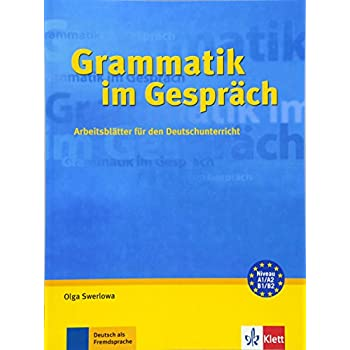 PDF] Grammatik im Gesprách: Arbeitsblátter für den Deutschunterricht ...