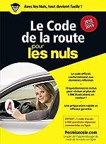 Le code de la route 2018-2019 pour les Nuls poche de DFC Production