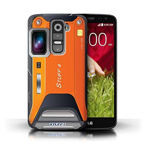 Kobalt® Imprimé Etui / Coque pour LG G2 Mini/D620 / Caméscope conception / Série Appareil Photo Sportif