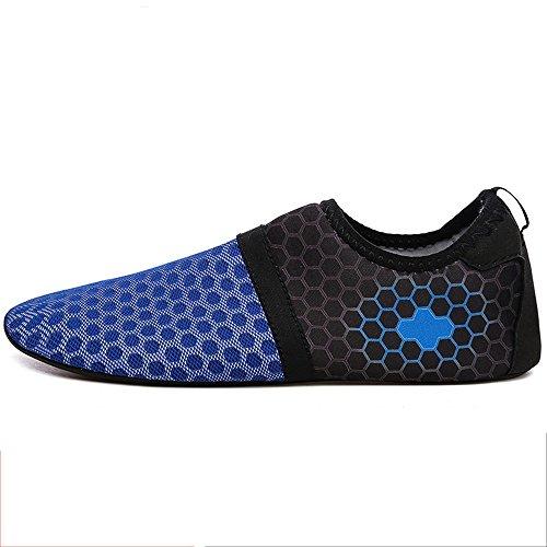 NAN Barfuß Schuhe weich und schnell trocknend atmungsaktiv Bewegung Wanderschuhe Schwimmen Yoga Beach Running Schnorcheln Surfen Tauchen Socken männlich Wasser Schuhe ( Farbe : 3 , größe : EU43/UK9.5/CN45 )