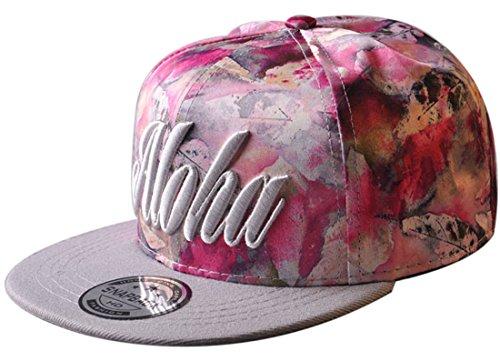Belsen Kind Hip-Hop Schreiben Cap Baseball Kappe Hut Truckers Hat (Erwachsene, rosa)
