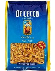 De Cecco Pasta Fusilli n.34-1 kg