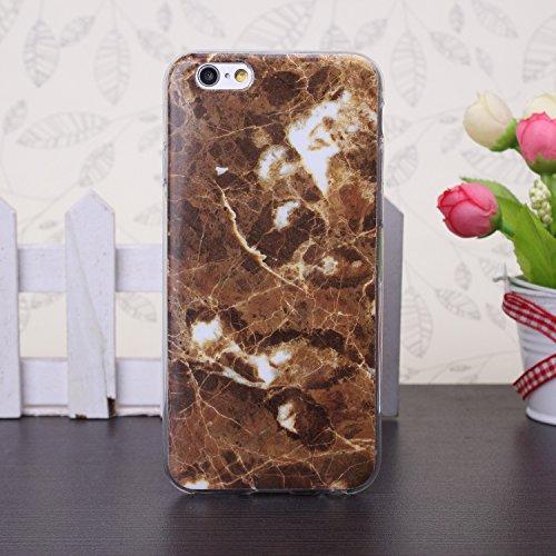 JIALUN-Telefon Fall 5SE, 6 s, 6 s Plus fall, bunte marmor muster TPU weichen fall gummi silikon haut abdeckung fall für 5SE, 6 s, 6 s Plus ( Color : 9 , Size : 6s Plus ) 3