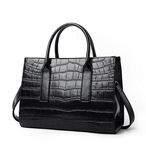 2bd8b639c6848 ZCJB Damen Totes Fashion Lady Taschen Hohe Kapazität Schulter Big Bag  Portable Messenger Bag ( Farbe