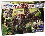 Clementoni 13818–Focus Junior Focus Il Großer Triceraptor