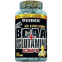 Weider, BCAA+Glutamin, 1er Pack (1x 180 Kapseln) preisvergleich bei fajdalomcsillapitas.eu