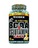 Muskelaufbaumittel - Weider BCAA + Glutamin 180 Kapseln, 1er Pack (1 x 255 g)