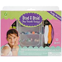 Iris pane e Braid Craft-Kit Pastels, in cotone, motivo floreale,