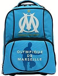 Quo Vadis - Olympique Marseille - Sac à Dos Roulettes 47 - 43x32x20 cm